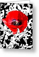 Design Poppy Greeting Card
