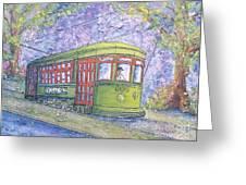 Desire Street Streetcar Greeting Card