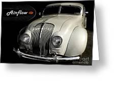 Desoto Airflow Greeting Card
