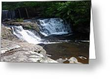 Desoto Falls In Alabama Greeting Card