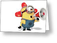 Despicable Me 2 Greeting Card