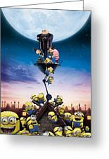 Despicable Me 2010 Greeting Card