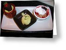 Dessert Trio Greeting Card