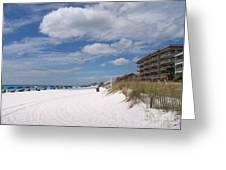 Destin Beach Greeting Card