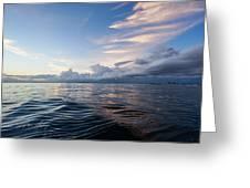 Destin High Tide Greeting Card