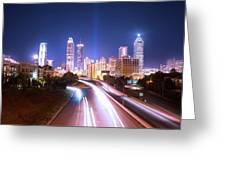 Destination Atlanta Greeting Card