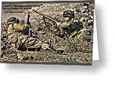 Destiny - Us Army Infantry Greeting Card