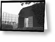Destruction Of The Speech Annex, 1980 Greeting Card
