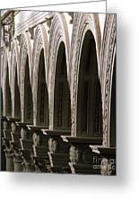 Detail From The Nave, Basilica Di San Lorenzo, Florence Greeting Card