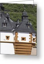 Detail Of Burg Pfalzgrafenstein Greeting Card