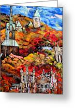 Detail Of Fall Greeting Card