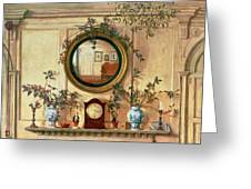 Detail Of Home Sweet Home  Greeting Card