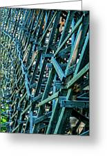 Detail View Of The Kinsol Trestle Greeting Card