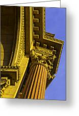 Details Palace Of Fine Arts Greeting Card