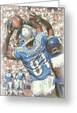 Detroit Lions Calvin Johnson 3 Greeting Card