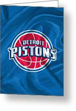 Detroit Pistons Greeting Card