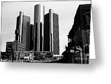 Detroit Rc From Congress Greeting Card