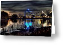 Detroit Reflections Greeting Card