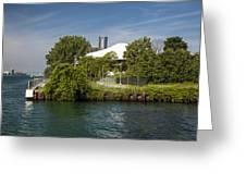 Detroit Riverfront 1 Greeting Card