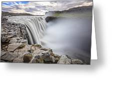Dettifoss Greeting Card