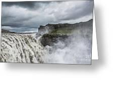Dettifoss Waterfall Greeting Card