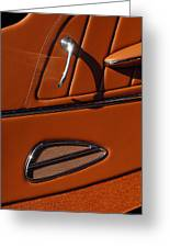 Deucenberg Hot Rod Interior Door Greeting Card