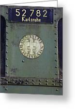 Deutsche Reichsbahn Greeting Card