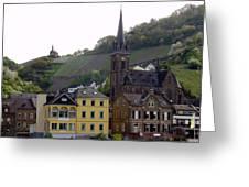 Deutsche Spire Greeting Card