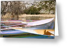 Deux Canoes Greeting Card