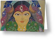 Devi Greeting Card