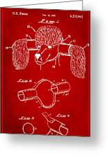 Device For Protecting Animal Ears Patent Drawing 1k Greeting Card