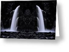 Devil Falls Greeting Card