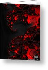Devil Light   A Fractal Abstract Greeting Card