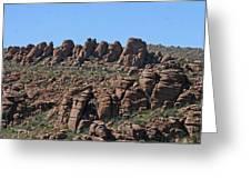 Devils Canyon Arizona Greeting Card