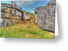 Devils Den Gettysburg Greeting Card