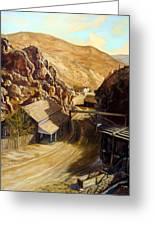 Devils Gate Nevada Greeting Card by Evelyne Boynton Grierson