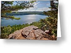 Devil's Lake Greeting Card