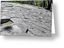 Devils Postpile - Nature And Science Greeting Card by Christine Till