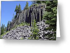 Devil's Postpile - Nature's Masterpiece Greeting Card