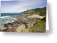 Devil's Punchbowl Greeting Card