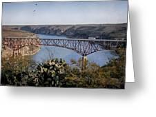 Devils River Hi Bridge Greeting Card