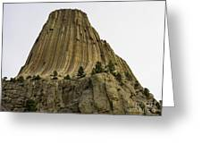 Devils Tower 6 Greeting Card