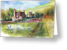 Devonshire Greeting Card