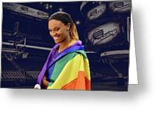 Dewanna Bonner Lgbt Pride 5 Greeting Card