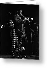 Dewey Redman Greeting Card
