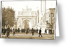 Dewey's Arch Monument, Madison Square, New York, 1900 Greeting Card