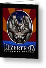 Dezert Ratz Poster Greeting Card