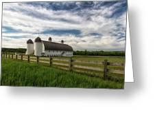 Dh Day Farm 9 Greeting Card