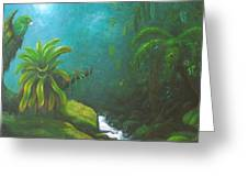 Dia De La Jungla Greeting Card
