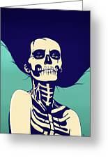 Dia De Las Muertas Greeting Card
